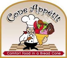 CONE APPÉTIT COMFORT FOOD IN A BREAD CONE