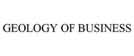 GEOLOGY OF BUSINESS