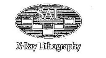SAL X-RAY LITHOGRAPHY