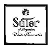 SUTER OF ARGENTINA WHITE TORRONTES