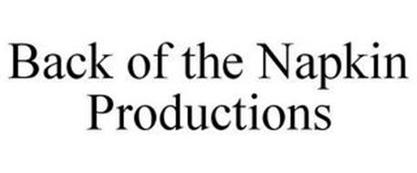 BACK OF THE NAPKIN PRODUCTIONS