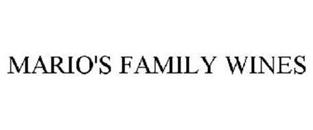 MARIO'S FAMILY WINES