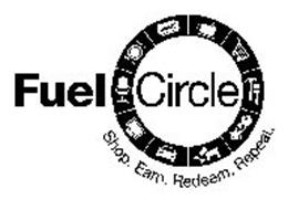 FUEL CIRCLE SHOP. EARN. REDEEM. REPEAT. TICKET