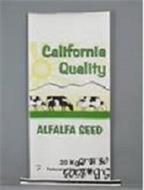 CALIFORNIA QUALITY ALFALFA SEED