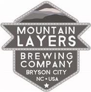 MOUNTAIN LAYERS BREWING COMPANY BRYSON CITY NC · USA