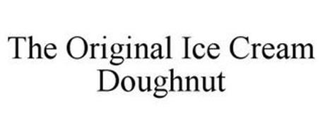 THE ORIGINAL ICE CREAM DOUGHNUT