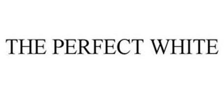 THE PERFECT WHITE