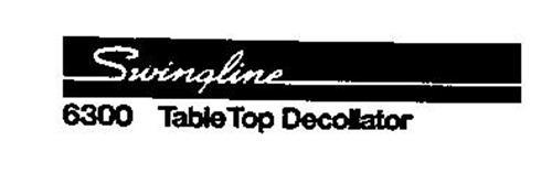 SWINGLINE 6300 TABLE TOP DECOLLATOR
