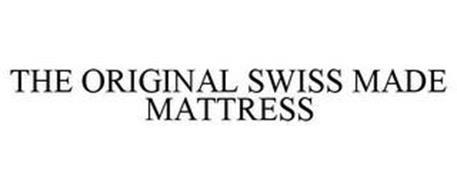 THE ORIGINAL SWISS MADE MATTRESS