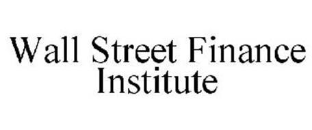 WALL STREET FINANCE INSTITUTE