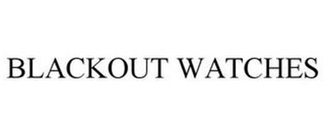 BLACKOUT WATCHES