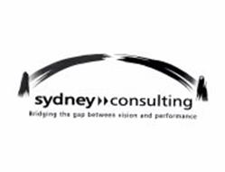 SYDNEY CONSULTING BRIDGING THE GAP BETWEEN VISION AND PERFORMANCE
