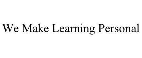 WE MAKE LEARNING PERSONAL