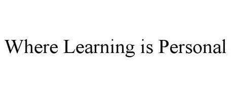 WHERE LEARNING IS PERSONAL