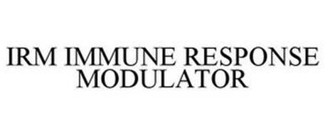 IRM IMMUNE RESPONSE MODULATOR