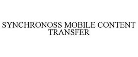 SYNCHRONOSS MOBILE CONTENT TRANSFER