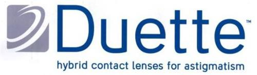DUETTE HYBRID CONTACT LENSES FOR ASTIGMATISM