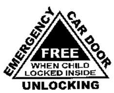 EMERGENCY CAR DOOR UNLOCKING FREE WHEN CHILD LOCKED INSIDE