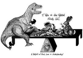 T. REX & THE RABBIT FOODS, LLC A BELLYFUL OF FOOD, LOVE & UNDERSTANDING! C 2015 SYNDY SWEENEY