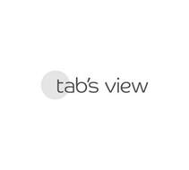 TAB'S VIEW