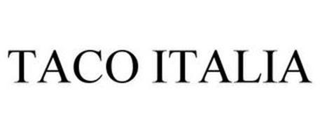 TACO ITALIA