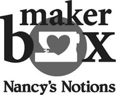 MAKER BOX NANCY'S NOTIONS