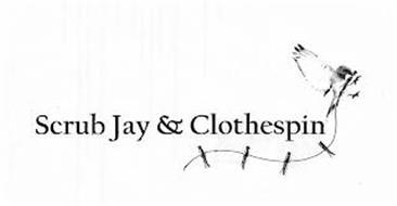 SCRUB JAY & CLOTHESPIN