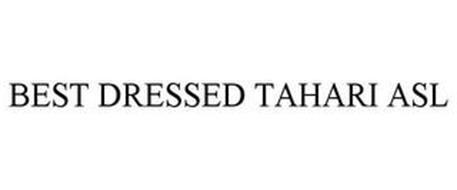 BEST DRESSED TAHARI ASL