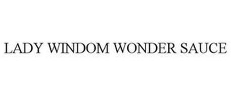 LADY WINDOM WONDER SAUCE
