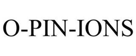 O-PIN-IONS