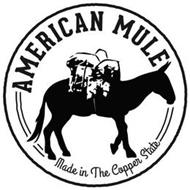 AMERICAN MULE MADE IN THE COPPER STATE