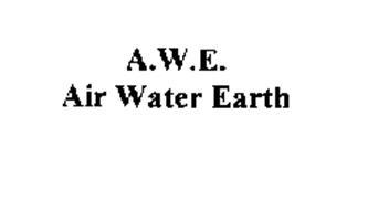 A.W.E AIR WATER EARTH