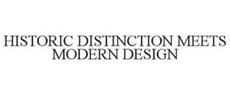 HISTORIC DISTINCTION MEETS MODERN DESIGN