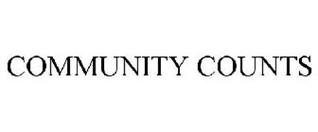 COMMUNITY COUNTS