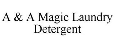 A & A MAGIC LAUNDRY DETERGENT