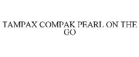 TAMPAX COMPAK PEARL ON THE GO