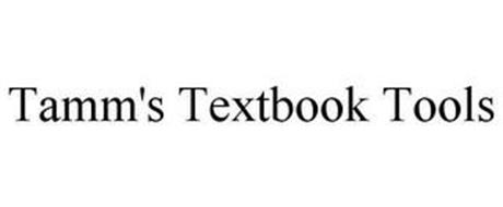 TAMM'S TEXTBOOK TOOLS