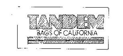 TANDEM BAGS OF CALIFORNIA