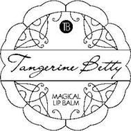 B TANGERINE BETTY MAGICAL LIP BALM