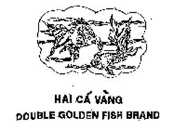 HAI CA VANG DOUBLE GOLDEN FISH BRAND