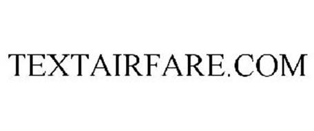 TEXTAIRFARE.COM