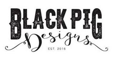 BLACK PIG DESIGNS EST. 2016