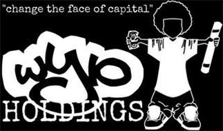 "WYIO HOLDINGS ""CHANGE THE FACE OF CAPITAL"""