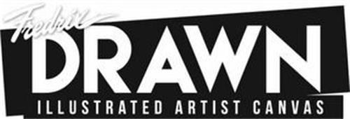 FREDRIX DRAWN ILLUSTRATED ARTIST CANVAS