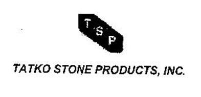 TSP TATKO STONE PRODUCTS, INC.