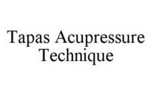 TAPAS ACUPRESSURE TECHNIQUE