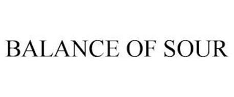 BALANCE OF SOUR
