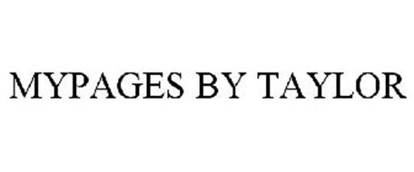 MYPAGES BY TAYLOR
