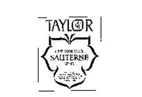 TAYLOR NEW YORK STATE SAUTERNE WINE PRODUCED AND BOTTLED BY THE TAYLOR WINE COMPANY,INC. HAMMONDSPORT.N.Y. U.S.A. ESTABLISHED 1880 ALCOHOL 12% BY VOL.