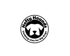 HEFTY HOUNDS CLOTHING LINE FOR BIG DOGS